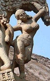 170px-Yakshini_Sanchi_Stupa_1_Eastern_Gateway